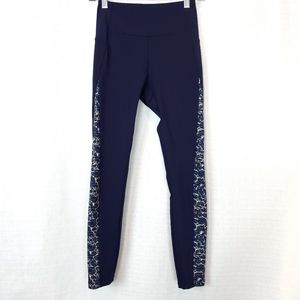 Gymshark Efflux Navy Blue Legging S